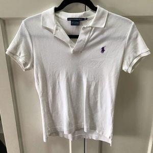 Ralph Lauren Sport White Polo